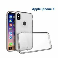Soft Silicon Shockproof ultra thin transperent back case for Apple iphone X