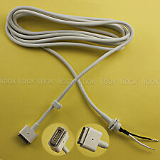 DC Cord Cable T plug fr macbook magbook pro magsafe1 charger adapter 45W 60W 85W
