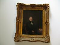 ANTIQUE 18TH TO 19TH CENTURY AMERICAN OIL PAINTING ESTATE HEIRLOOM PORTRAIT MAN