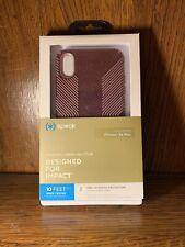 Speck Presidio Grip + Glitter Case for Apple iPhone XS MAX - Purple