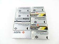 10x 120 Rollfilm Expired Film abgelaufene Filme Agfapan 100 400 Agfacolor 160