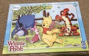 Winnie the Pooh Disney Kids  Puzzle 35 pieces Brand New