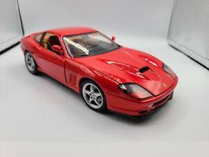 1:18 Maisto 1996 Ferrari 550 Maranello - Red, Yellow