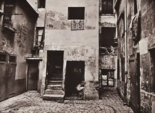 1890/1963 Vintage 11x14 STONE HOUSE Architecture France Photo Art ~ EUGENE ATGET