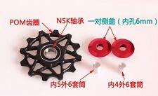 12T MTB Jockey Wheel bicycle Rear Derailleur Pulley guide bearing resin SRAM
