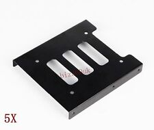 5X2.5 to 3.5 inch SSD to HDD PC Metal Adapter Mounting Bracket Hard Drive Holder