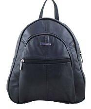 Ladies Lorenz REAL GENUINE LEATHER Rucksack  Backpack Shoulder Fashion Hand Bag