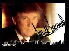 Donald Trump Autogrammkarte Präsident der USA