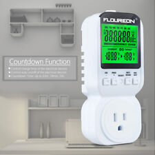 Programmable Thermostat Switch Timer Socket Temperature Controller 12/24H Outlet