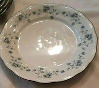 "6 Vintage Johann Haviland Bavaria GERMANY Blue Garland Pattern 10"" Dinner Plates"