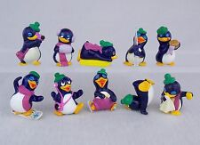 Überraschungsei Figuren Peppy Pingos 1992 UeEi Pinguine Auswahl
