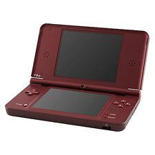 Nintendo DSi XL Burgundy Handheld System - COMPLETE, TESTED