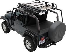 Jeep Wrangler JK SRC Roof Rack 2007-2017 4 Door Textured Black Smittybilt 76717