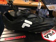 FILA Scarpe Da Calcio UK 8 A £ 26 influenza Nero/Bianco/redpro Boot