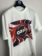 Vintage 1995 Oasis USA Tour T Shirt Rare Original Tee Xl
