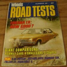 1973.WHEELS Road Test No.26.XB Falcon GT Coupe.LH Torana.P76.Kingswood.VW.CELICA