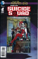 New Suicide Squad Futures End #1 New 52, DC, NM, 3-D Motion Cover, HARLEY QUINN