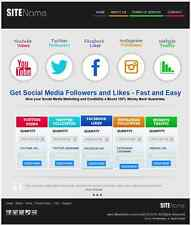 PREMIUM SEO SOCIAL MEDIA WEBSITE BUSINESS FOR SALE - Free Installation Provided