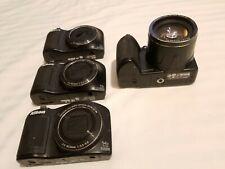 Lot Of 4 Assorted Nikon Coolpix 2(L620) 1(L610)1(L120)PLEASE READ DESCRIPTIONS