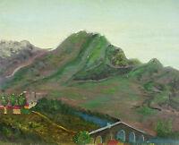 Odette Caly (1914 Hsp Landscape of Jura Burgundy; Frank County; Lons the Saunier