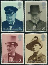 GB MNH STAMP SET 1974 Sir Winston Churchill SG 962-965 UMM