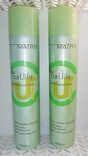 2 Matrix NEW CURL LIFE Defining System Every Weather Hairspray 10 oz Each (817)