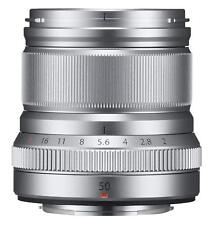 FUJIFILM Single Focus Medium Telephoto Lens XF50mmF2 R WR S Silver 50mm EMS