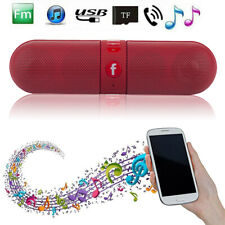 Portable Mini Speakers Bluetooth Wireless Super Bass Pill Speakers For Phone Pad
