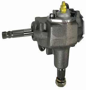 Borgeson 920040 Steering Box, Manual, OEM Saginaw 525 Series, Quick Ratio, New