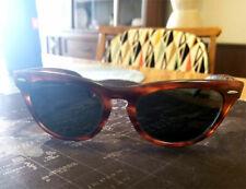 Vintage 1970's Ray Ban Laramie Brown Tortoise Sunglasses
