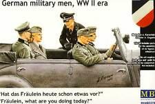 MB Masterbox - German military men Deutsche Fahrzeugbesatzung 1:35 Bausatz kit
