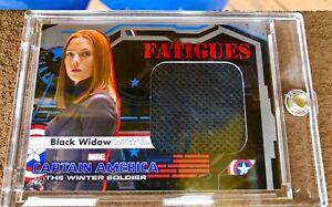 2014 Upper Deck Captain America Winter Soldier Black Widow Scarlett Johannson
