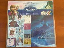 Disney Frozen Scrapbooking page 140 piece kit pages stickers die cuts 51-00122