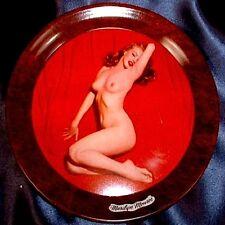 Marilyn Monroe Coaster 1950s Tip Tray Calendar Pinup Golden Dreams Litho VTG