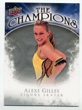 2009-10 Upper Deck ALEXE GILLES Rookie CHAMPIONS FIGURE SKATING TRADING CARD USA