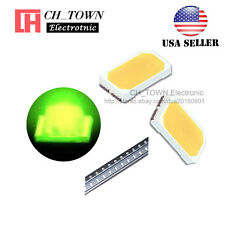 100PCS 5730 Green Light SMD SMT LED Diodes Emitting Ultra Bright USA
