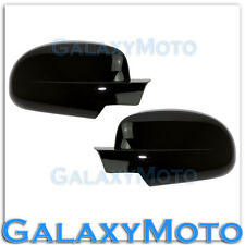 07-13 GMC Sierra+Yukon+Yukon XL Gloss Black Full Mirror Cover 1 piece Design