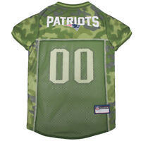 New England Patriots NFL Pets First Licensed Dog Pet Mesh CAMO Jersey XS-XL NWT