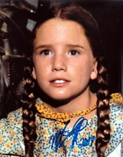 MELISSA GILBERT.. Little House On The Prairie - SIGNED