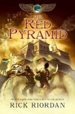The Red Pyramid by Rick Riordan The Kane Chronicles Series Book 1 Hardcover HB