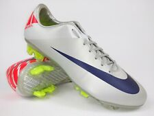 Nike Mens Rare Mercurial Vapor Vll FG 441976 051 Gray Soccer Cleats Shoes Size 8