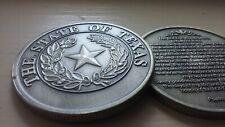 State of Texas seal 23rd Psalm KJV antique nickel coin