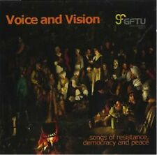Voice And Vision - Songs Of Resistance, Democracy And Peace  - NEW SEALED CD