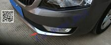Car ABS front Fog Lamp Light Cover Trim For Skoda Octavia MK3 A7 2015 2016