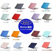 Matte Transparent Laptop Case for Apple MacBook Air Pro 11 13 Hard Shell Cover