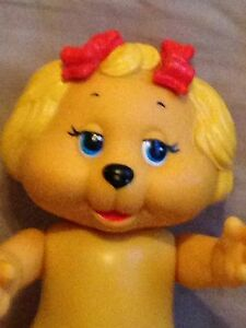 """Vintage The Get Along Gang Figurine Dotty Dog doll toy 1984 Tomy plastic 6"""""""