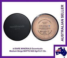 Bare Minerals Escentuals BareMinerals  MATTE Medium Beige (N20) 6gr/0.21 Oz.