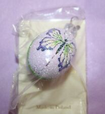 Patricia Breen miniature egg violet butterfly