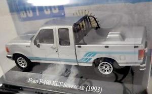 Ford F-100 XLT Supercab 1993 Argentina Rare Diecast Truck Scale 1:43 + Magazine