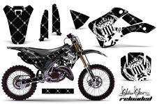 KAWASAKI KX 125/250 Graphic Kit AMR Racing # Plates Decal Sticker Part 99-02 RLW